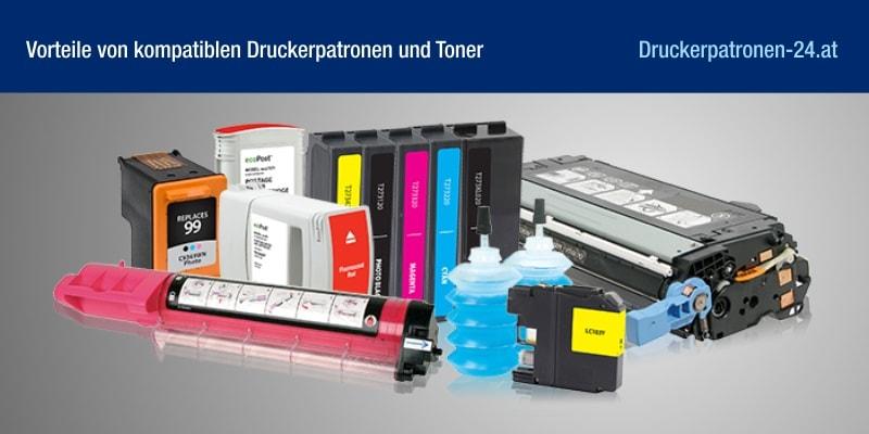 Vorteile von kompatiblen Druckerpatronen und Toner
